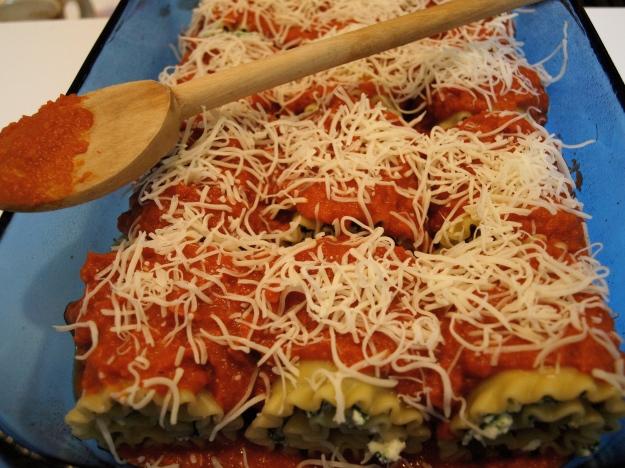 Lasagna Rolls Pre-Oven