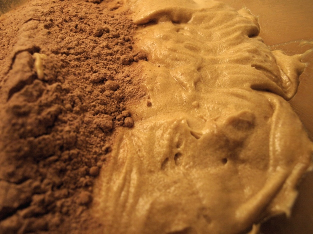 Cocoa Flour Brownie Batter