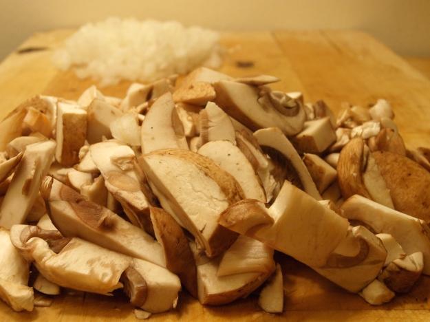 Mushroom onion sauce