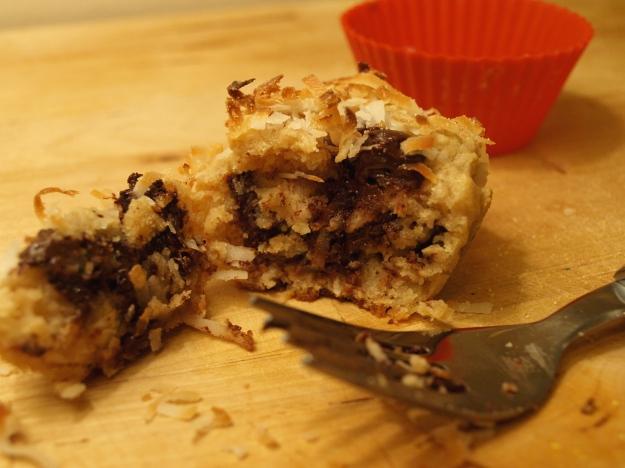 Chocolate Macaroon Muffin Fork