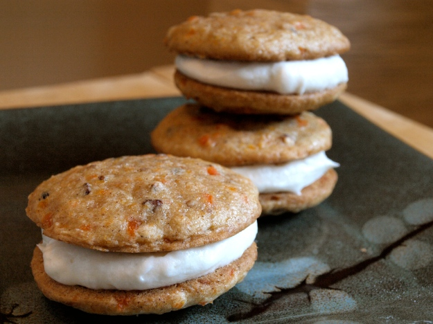 Carrot Cake Whoopie Pies Stacked 2