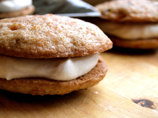 Carrot Cake Whoopie Pie Close Up