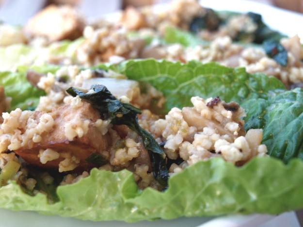 Plated Vegetarian Lettuce Wraps 4
