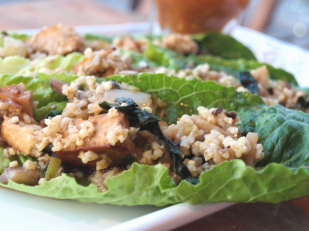 Plated Vegetarian Lettuce Wraps 3