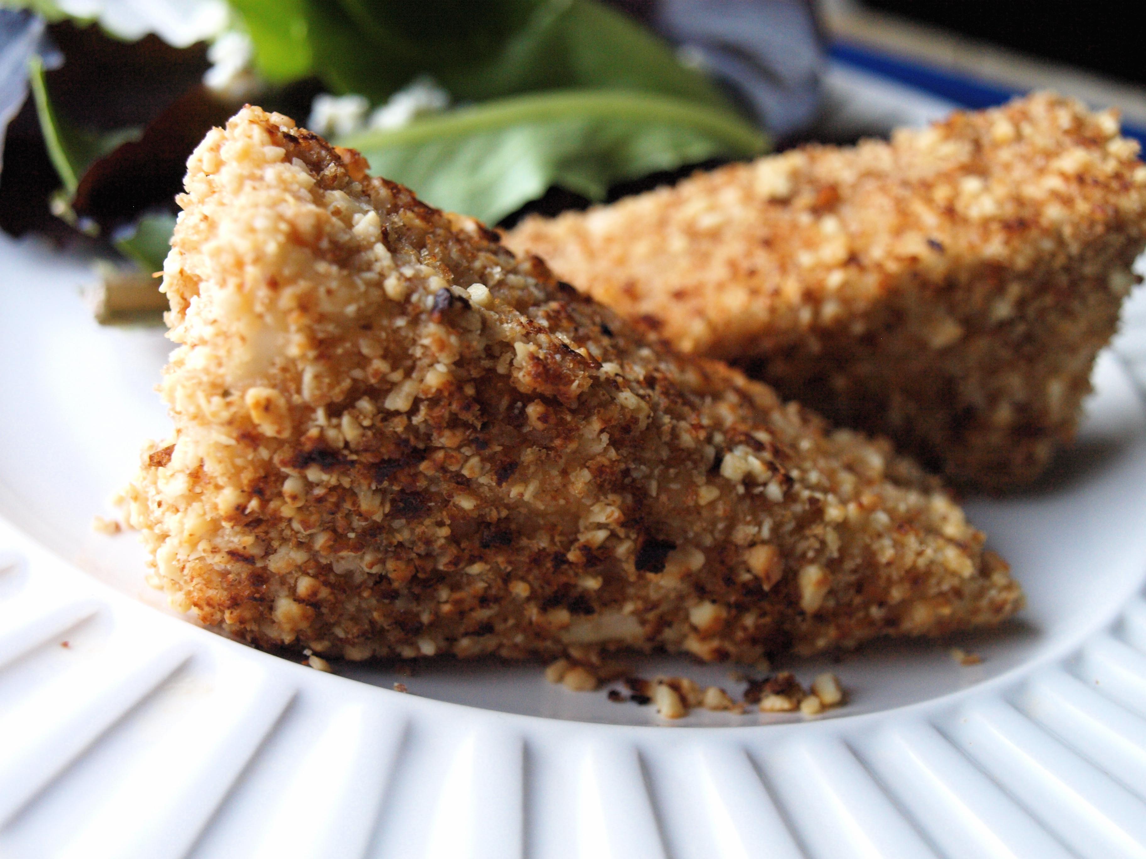 Peanut crusted tofu 4