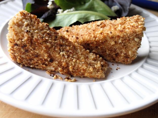 Peanut crusted tofu 2