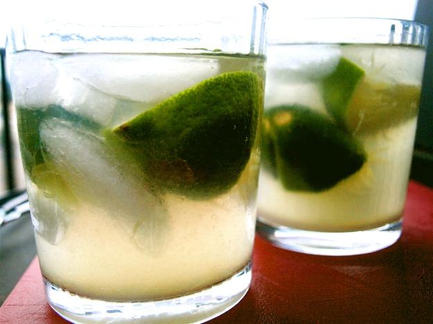 Summer time lime: margarita