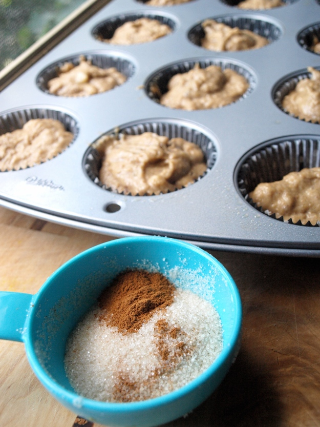 whole wheat peanut butter banana muffins vegan