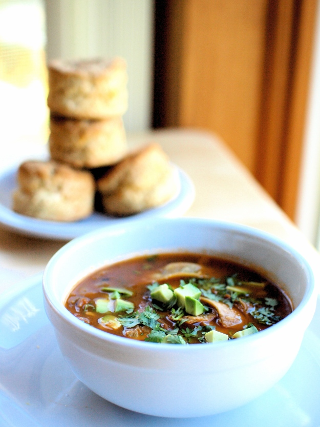 Tortilla Soup Cheddar Biscuits