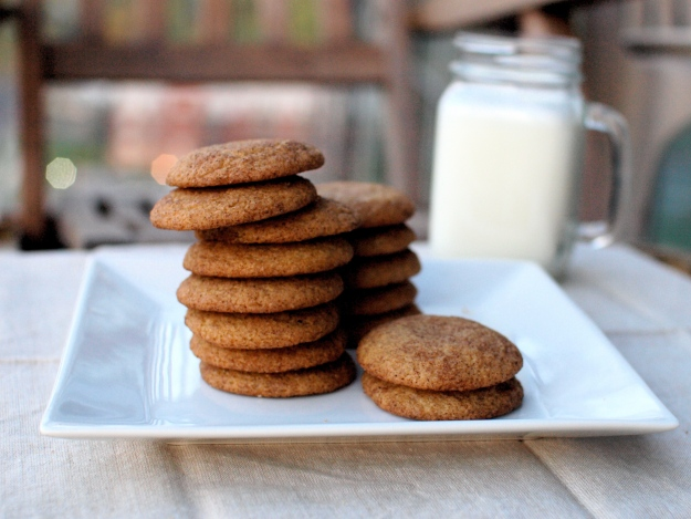 apple cider snickerdoodles
