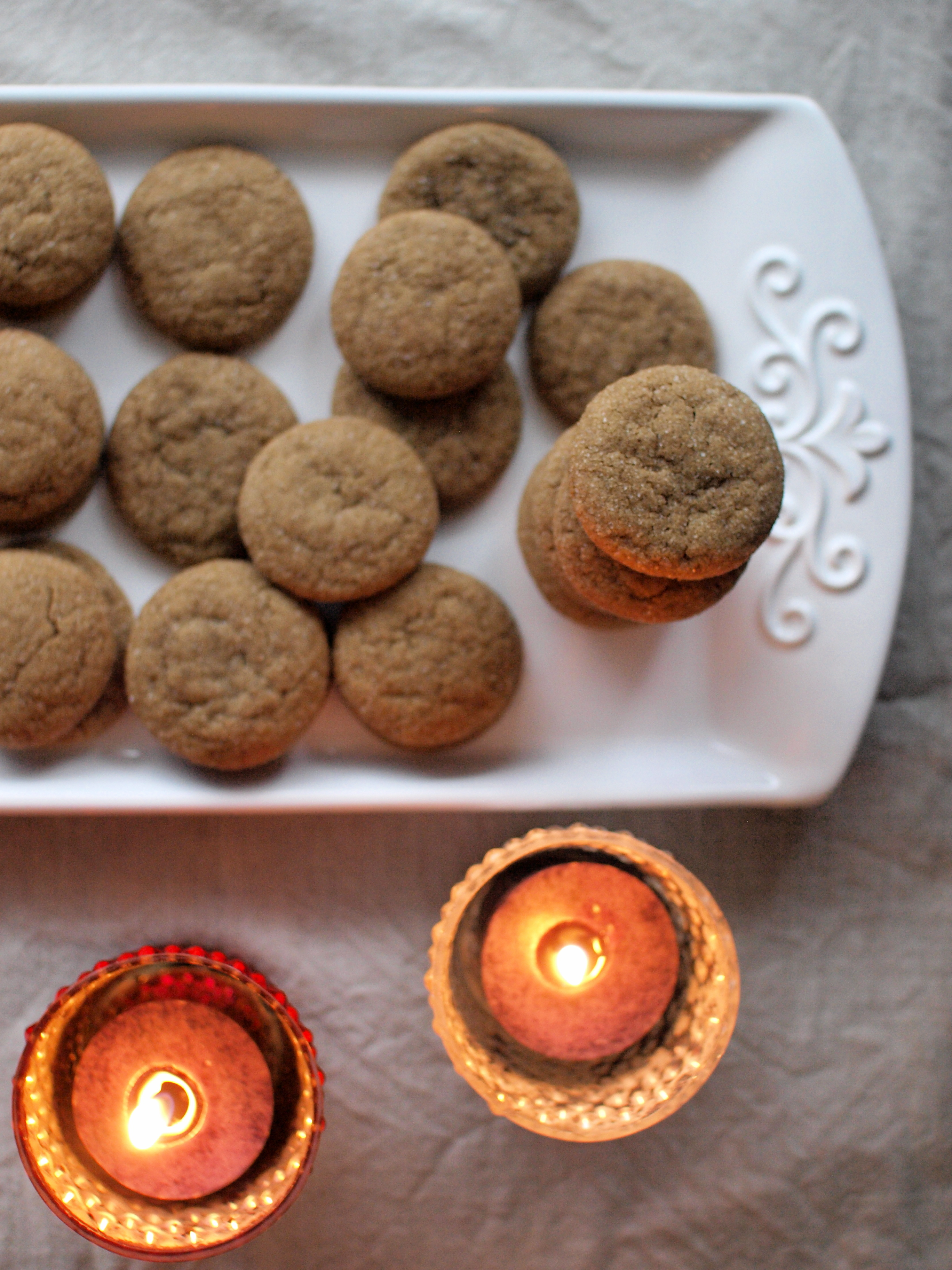 ginger cookies candles 2