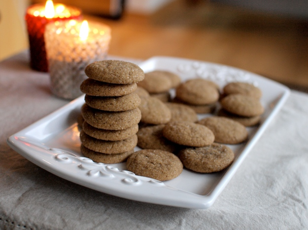 soft ginger cookies candles