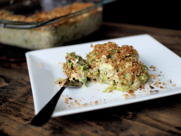 brussels sprout quinoa gratin 6